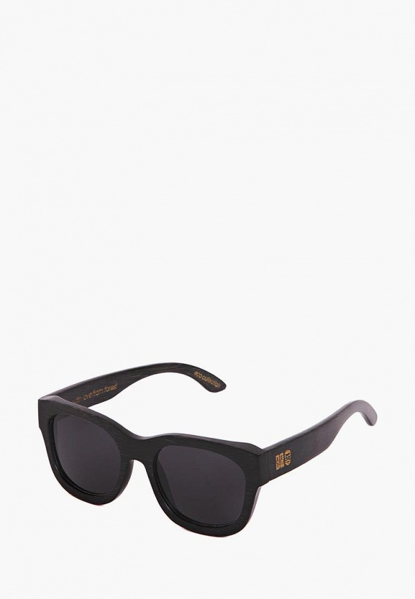 Фото 4 - Очки солнцезащитные BRO черного цвета