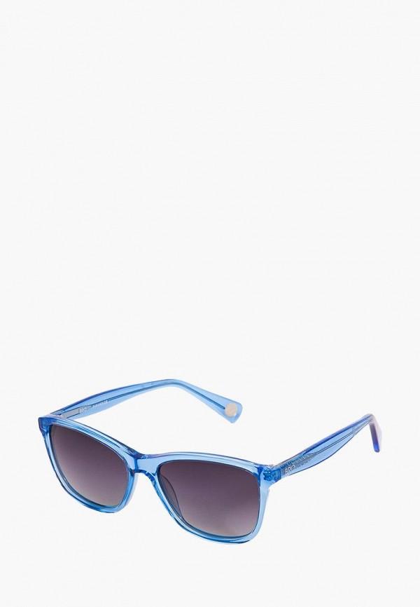 Фото 6 - Очки солнцезащитные BRO голубого цвета