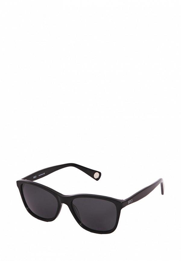 Фото - Очки солнцезащитные BRO черного цвета