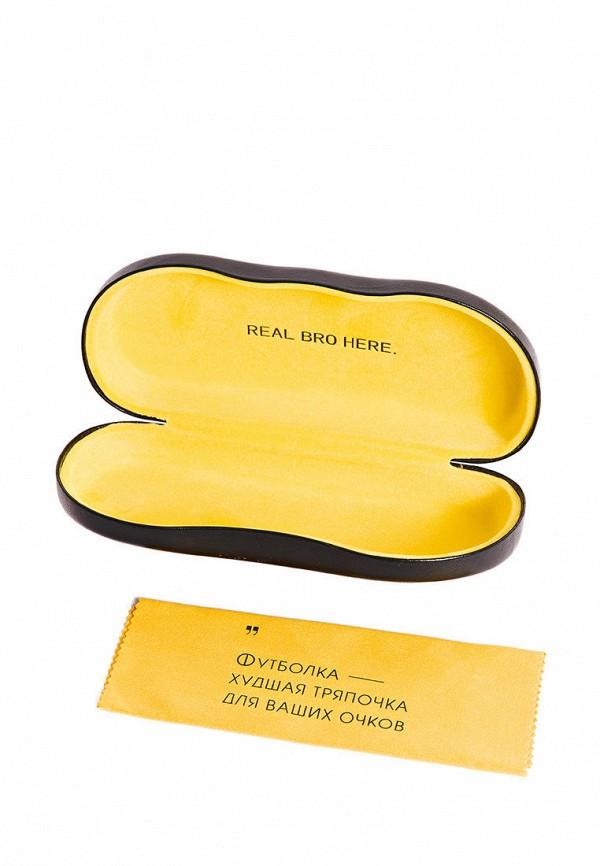 Фото 3 - Очки солнцезащитные BRO черного цвета