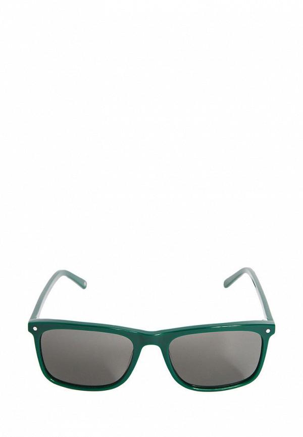 Фото 3 - Очки солнцезащитные BRO зеленого цвета