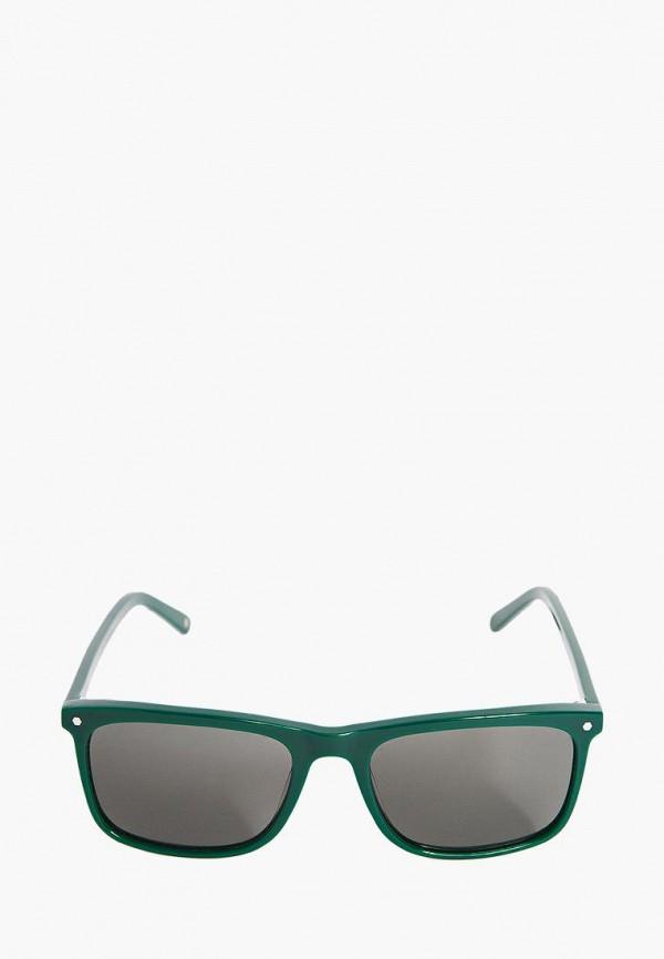 Фото 8 - Очки солнцезащитные BRO зеленого цвета