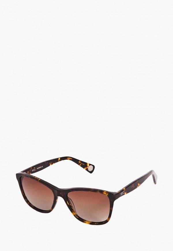 Фото 6 - Очки солнцезащитные BRO коричневого цвета