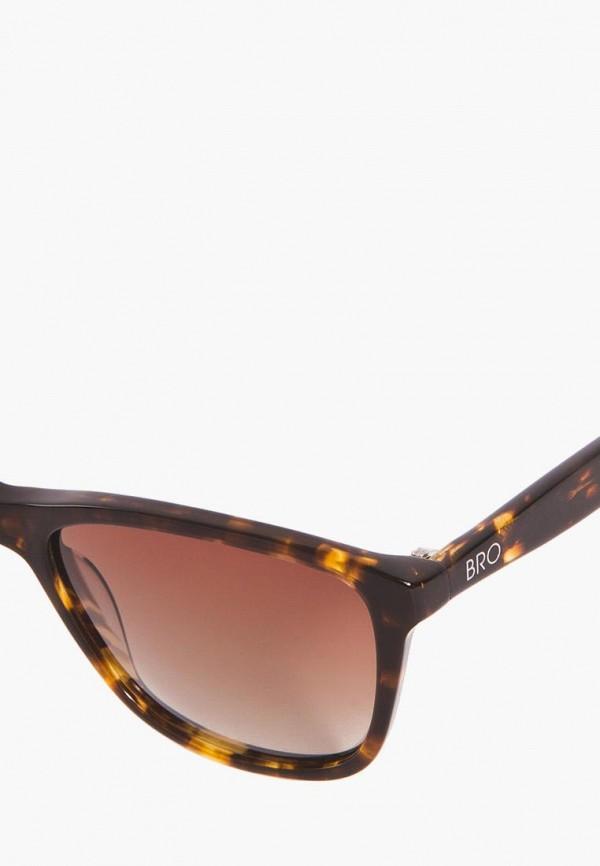 Фото 7 - Очки солнцезащитные BRO коричневого цвета