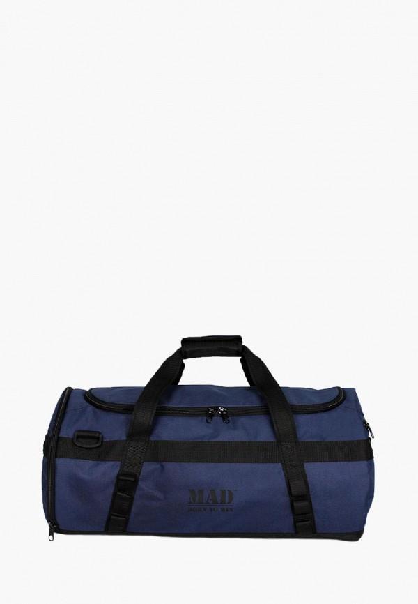 женская сумка mad | born to win, синяя