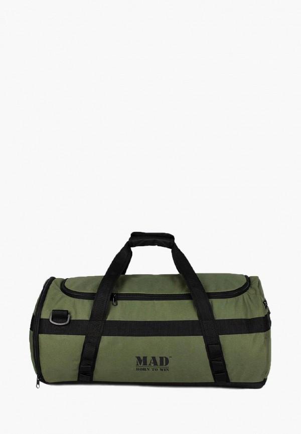 женская сумка mad | born to win, зеленая