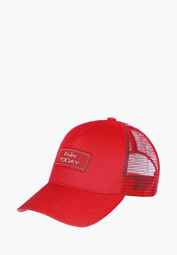 женская бейсболка headway, красная