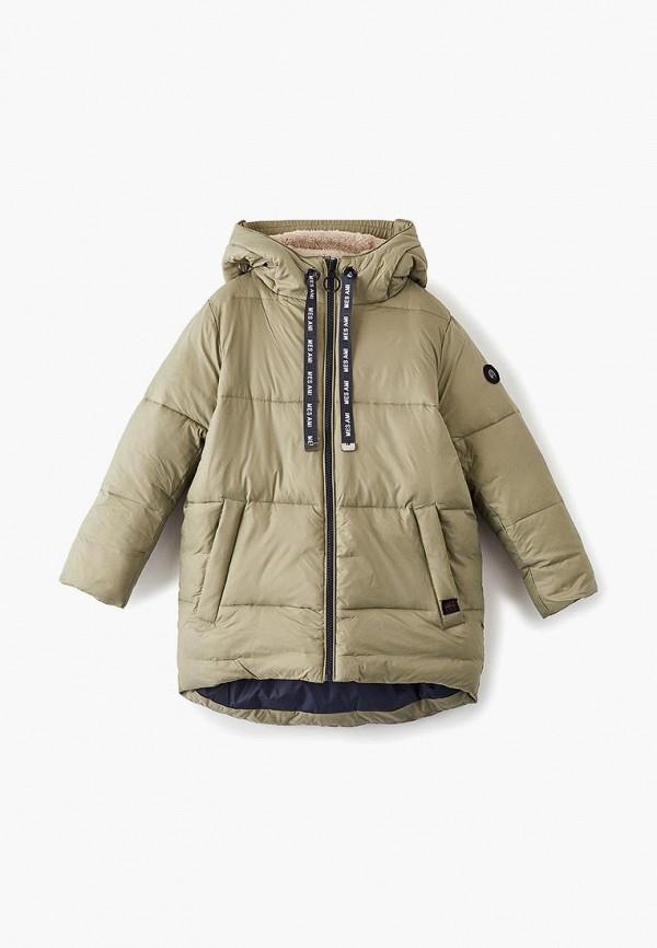 женская куртка mes ami, хаки
