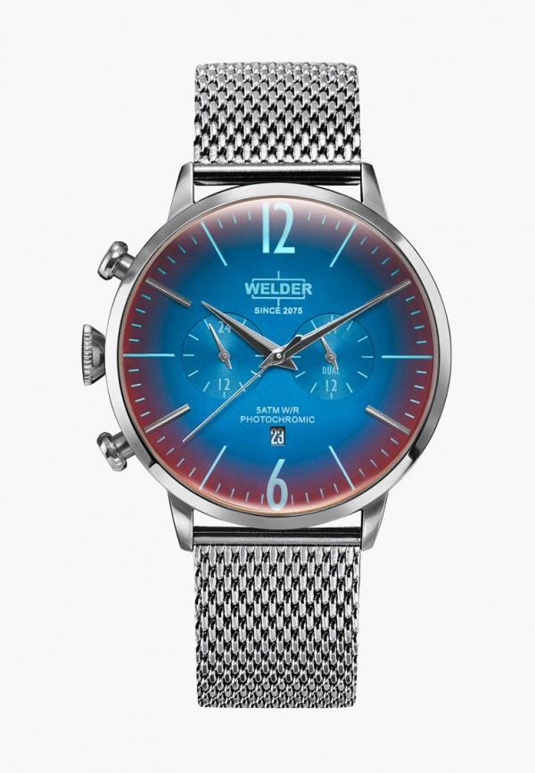 женские часы welder, серебряные