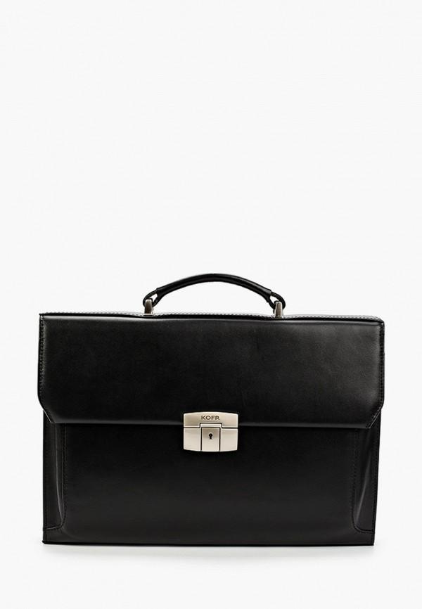 женский портфель kofr, черный
