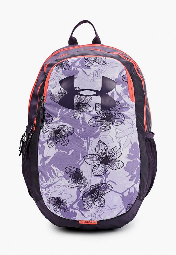 женский рюкзак under armour, фиолетовый