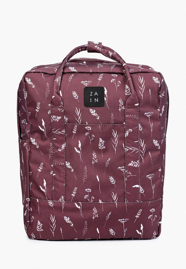 женский рюкзак zain, бордовый