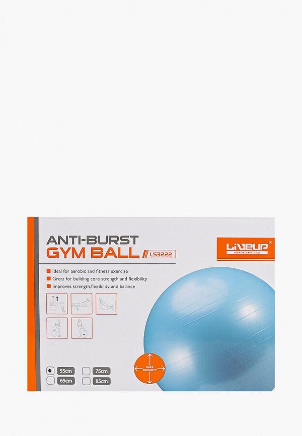 Мяч гимнастический Liveup Liveup MP002XU02RST мяч гимнастический indigo jb2 45 с ручкой цвет розовый диаметр 45 см