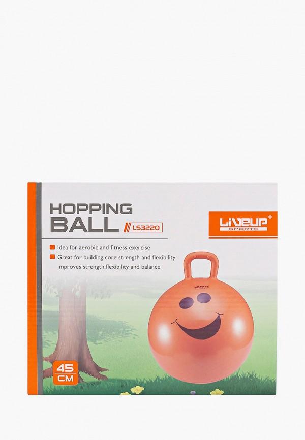 Мяч гимнастический Liveup Liveup MP002XU02RSY мяч гимнастический indigo jb2 45 с ручкой цвет розовый диаметр 45 см
