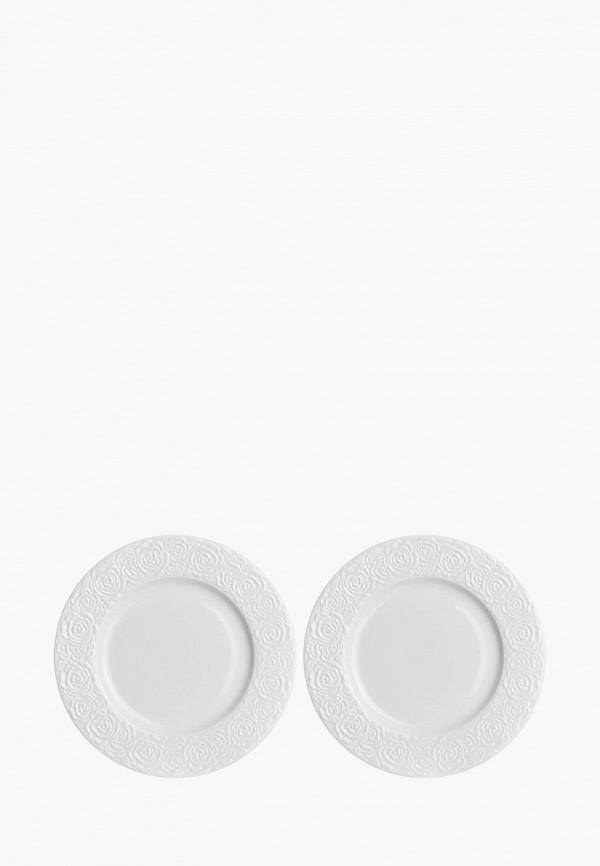 Набор тарелок Elan Gallery Elan Gallery MP002XU02TV2 набор обеденных тарелок elan gallery маки диаметр 23 см 6 шт