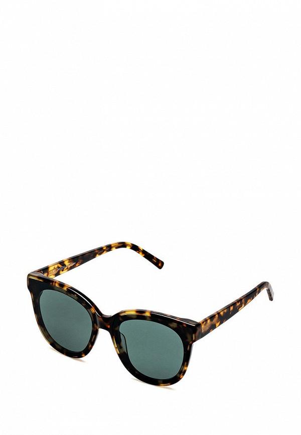 женские солнцезащитные очки fashionlab, разноцветные
