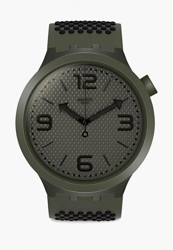 женские часы swatch, хаки