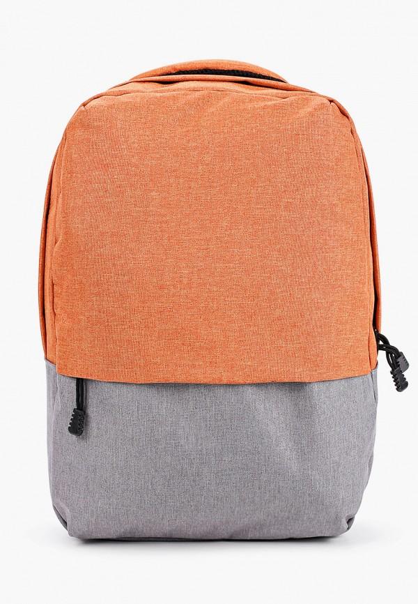 женский рюкзак urban life accessories, оранжевый
