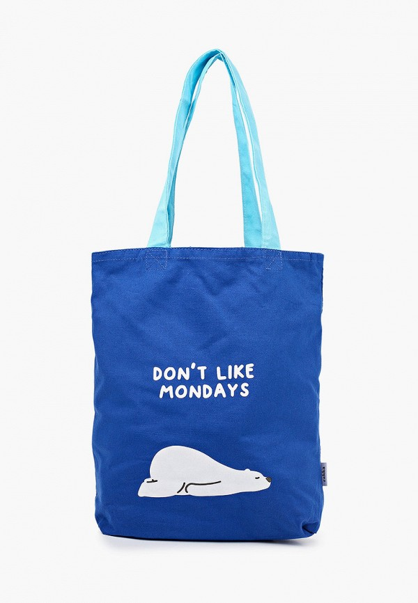 женская сумка-шоперы zakka, синяя