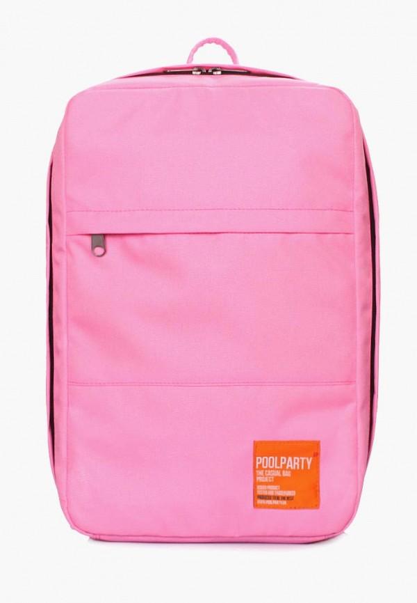 женский рюкзак poolparty, розовый