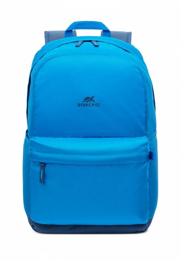 женский рюкзак rivacase, голубой