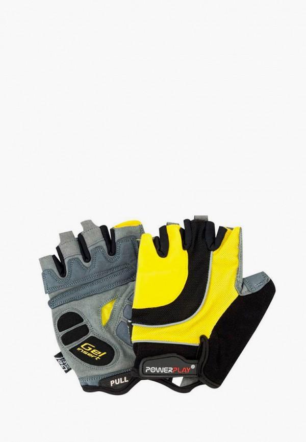 женские перчатки powerplay, черные