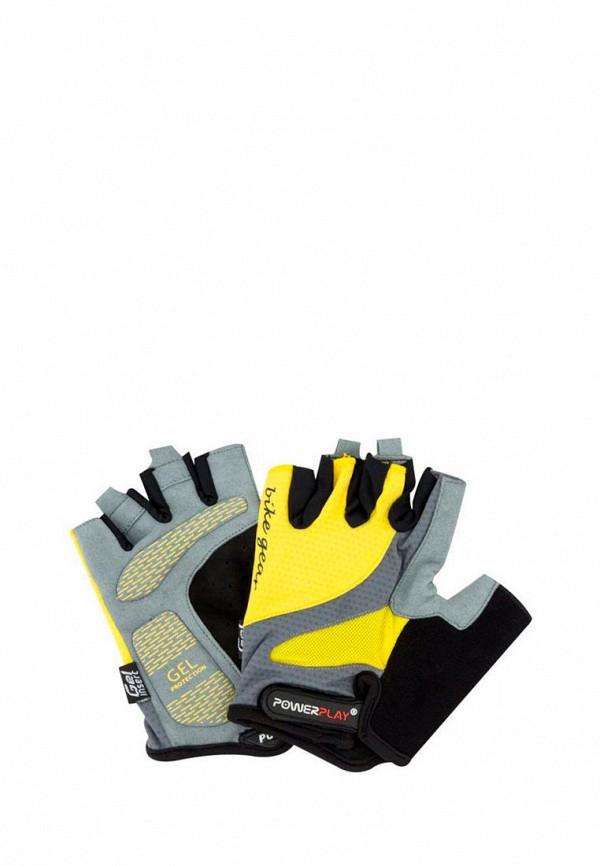 женские перчатки powerplay, разноцветные