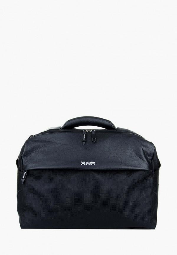 женская сумка luxon, черная