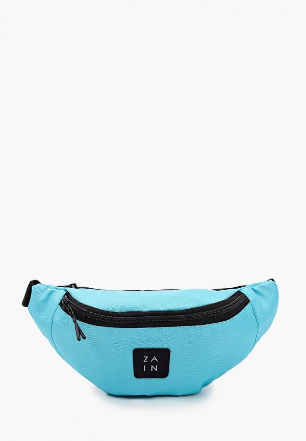 женская поясные сумка zain, бирюзовая