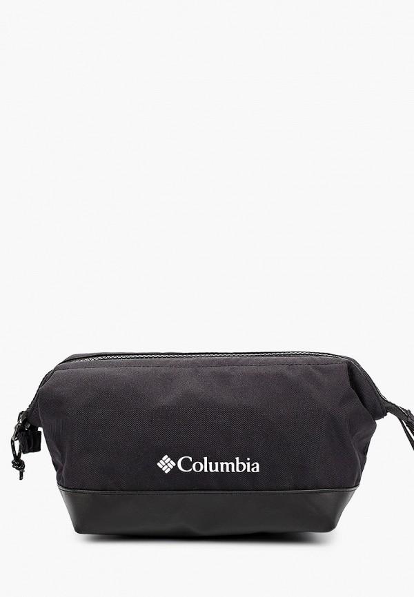 женская косметичка columbia, черная