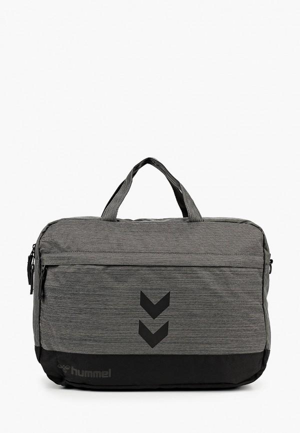 женская спортивные сумка hummel, серая