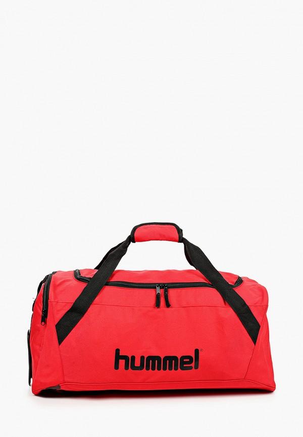 женская спортивные сумка hummel, красная