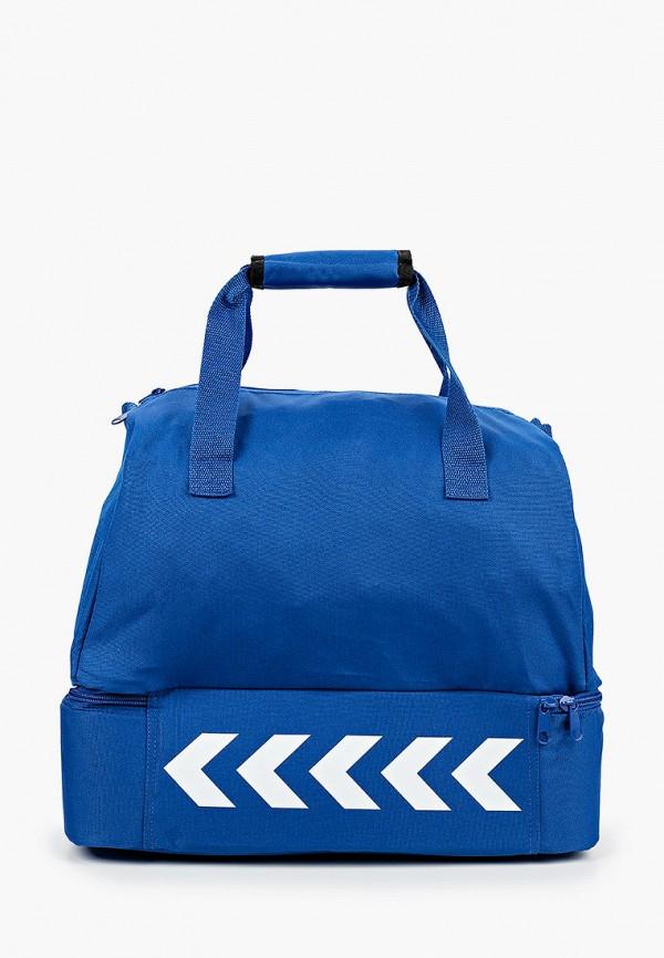 женская спортивные сумка hummel, синяя