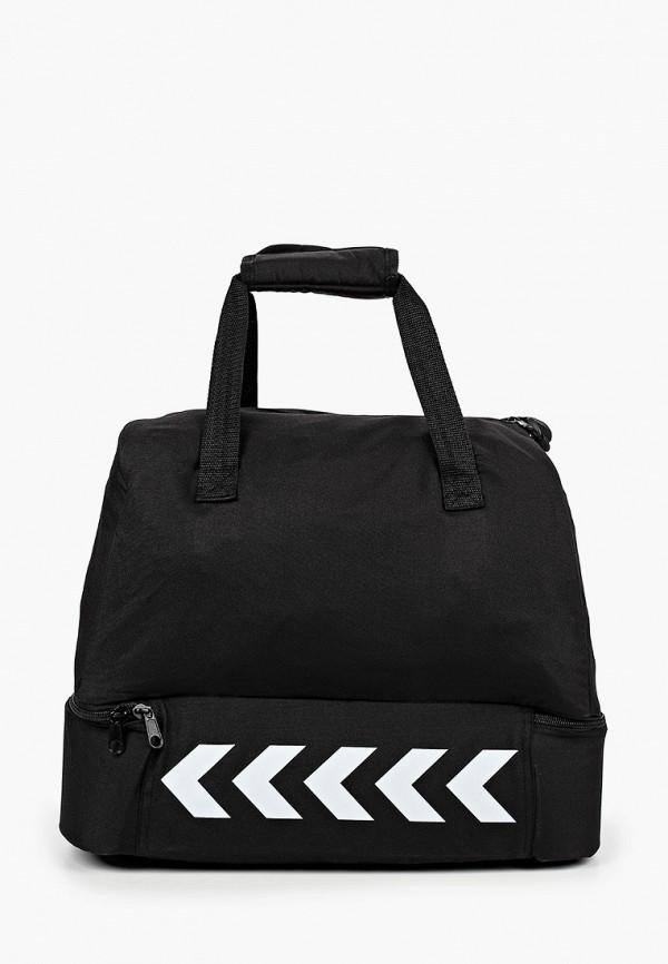 женская спортивные сумка hummel, черная