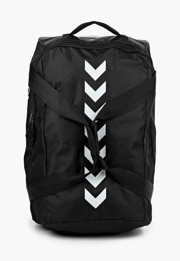 женская дорожные сумка hummel, черная