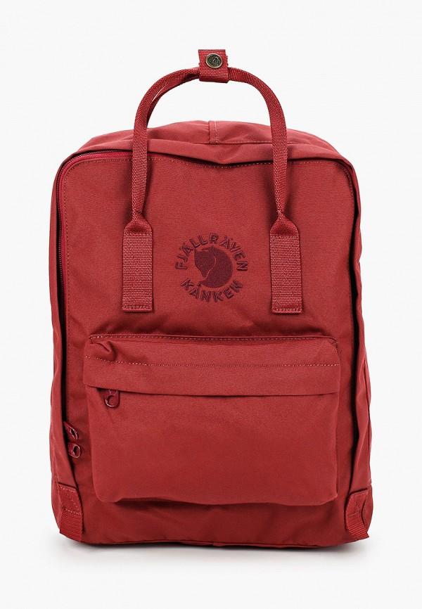 женский рюкзак fjällräven kånken, бордовый