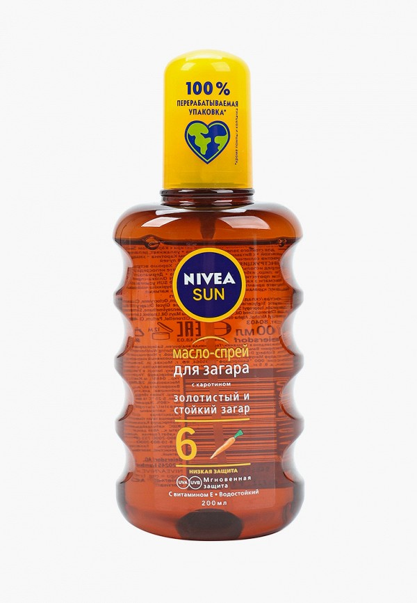 Масло для загара Nivea