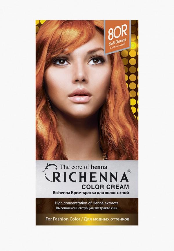 женский краска для волос richenna, оранжевый