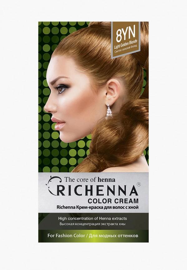 женский краска для волос richenna, желтый