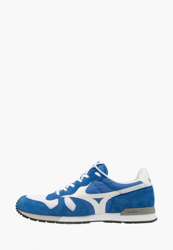 женские кроссовки mizuno, голубые