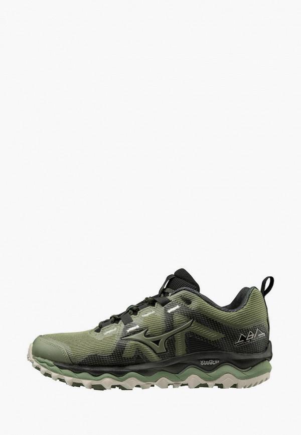 женские кроссовки mizuno, зеленые