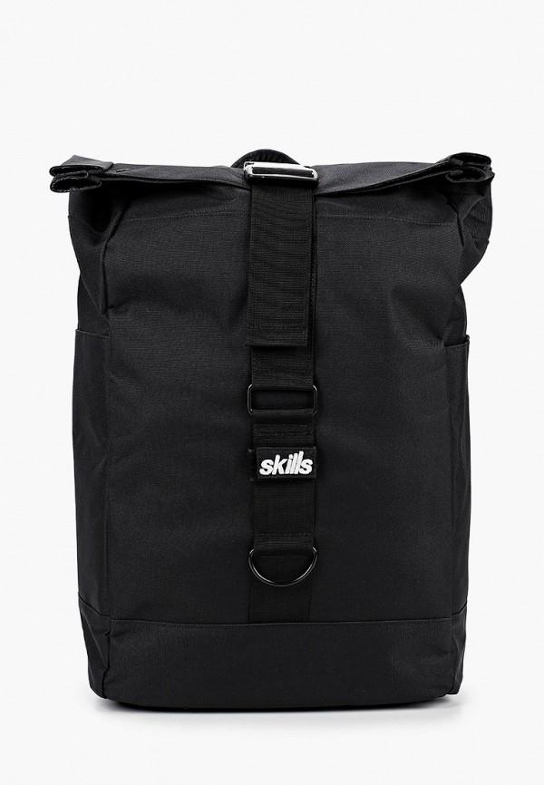 женский рюкзак skills, черный