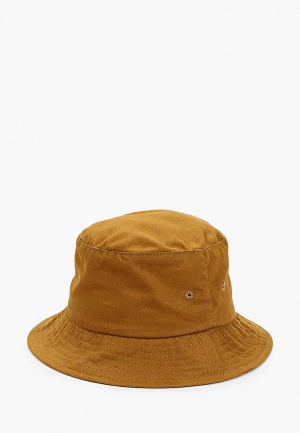 женская панама behurr, коричневая