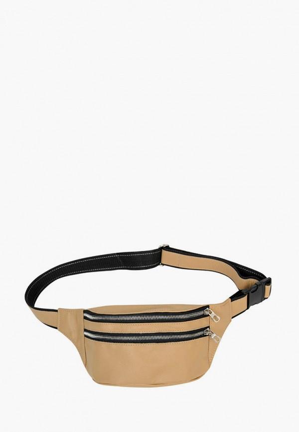 женская сумка sambag, бежевая