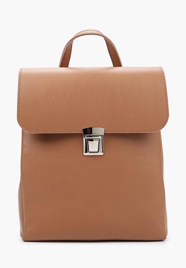 женский рюкзак asya malbershtein, коричневый