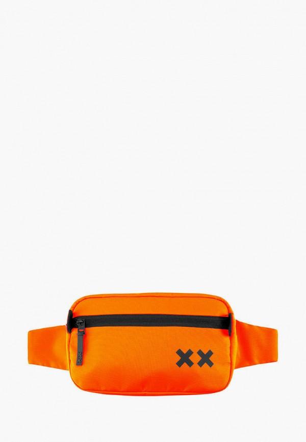 женская сумка double x, оранжевая