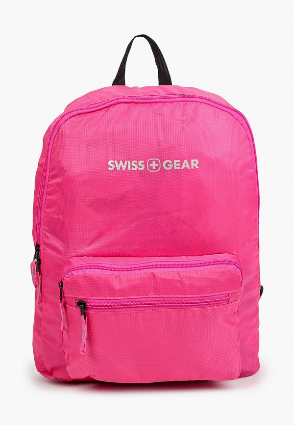 женский рюкзак swissgear, розовый