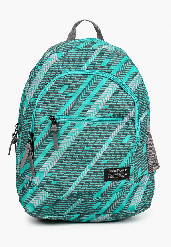 женский рюкзак swissgear, зеленый