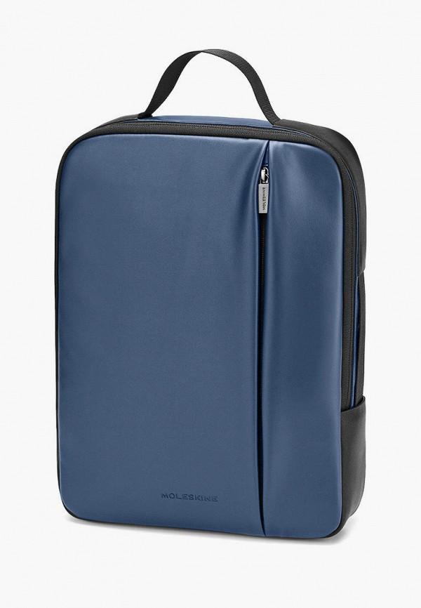 женская сумка moleskine, синяя