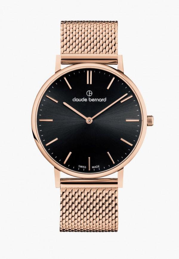 женские часы claude bernard, золотые